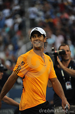 Verdasco Fernando at US Open 2009 (43) Editorial Stock Image