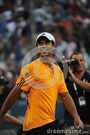 Verdasco Fernando at US Open 2009 (43) Editorial Stock Image