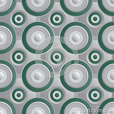 Verde infinito da prata da quadriculação