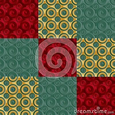 Verde infinito do ouro da quadriculação