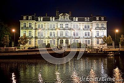 Verdun by night