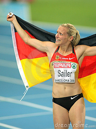 Verena Sailer of Germany Editorial Stock Photo