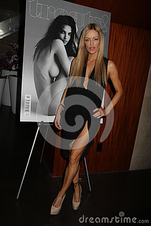 Verina Marcel at the Treats! Magazine Spring Issue Party, Private Location, Beverly Hills, CA 05-10-12 Editorial Stock Image