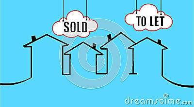 Verkauft oder Ihr Haus lassen