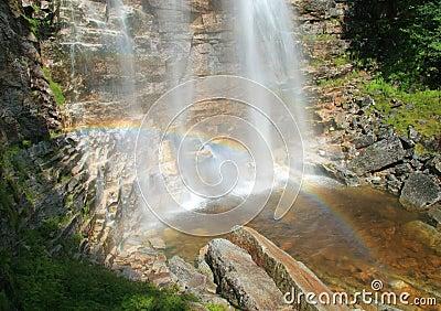 Verkeerder Kill Falls Rainbow