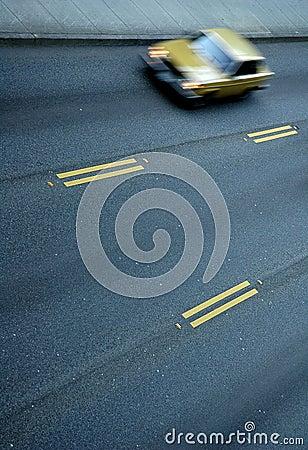 Verkehrs-Unschärfe