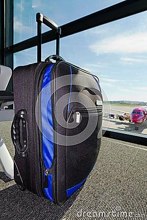 Verlorenes Gepäck auf dem Flughafen