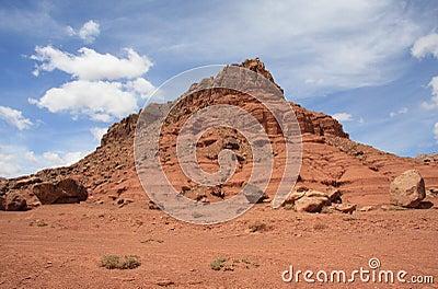 Vermilion cliff formation