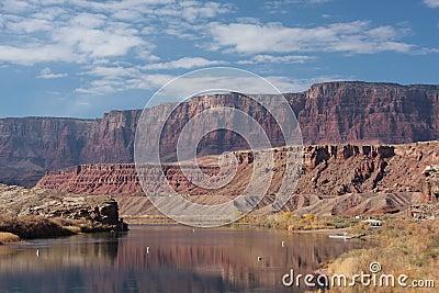 Vermilion Cliffs and the Colorado River