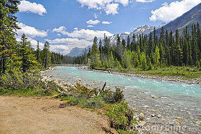 Vermilion Fluss Kootenay am Nationalpark