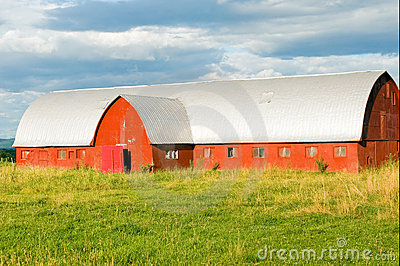 Vermont dairy barn