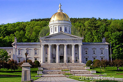 Vermont State Capitol Building in Montpelier