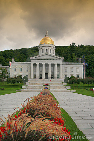 Free Vermont State House Royalty Free Stock Image - 3171746