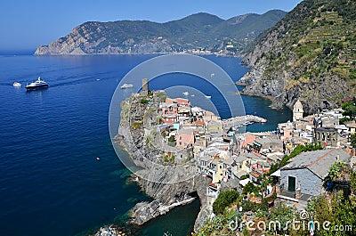Vernazza, Cinque Terre in Italy