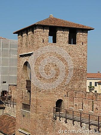 Verona - średniowieczny kasztel
