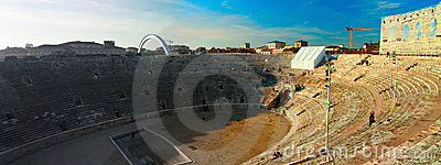 Verona Arena Amphitheatre Editorial Photography