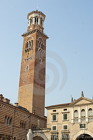 Verona (Veneto, Italy), ancient tower