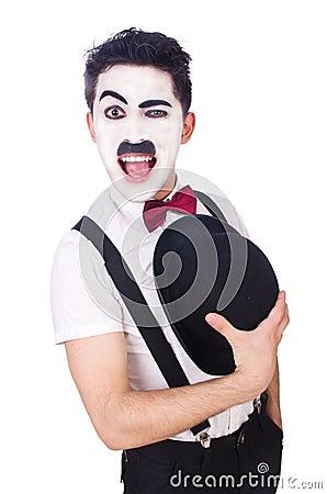 Verpersoonlijking van Charlie Chaplin