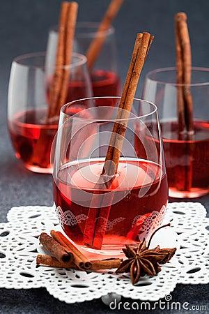 Verrührter Wein