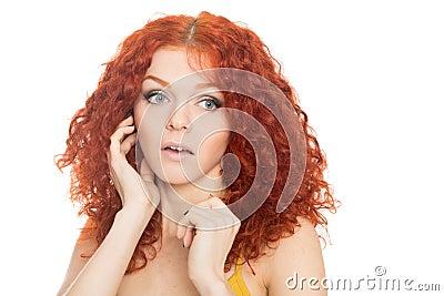 reizen fetisch rood haar