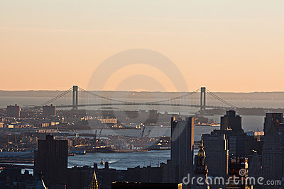 Verrazano Narrows Bridge New York City