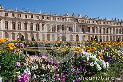Versailles gardens Editorial Stock Image