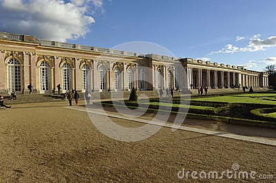 Versailles, Pleasure Palace Trianon Editorial Photo