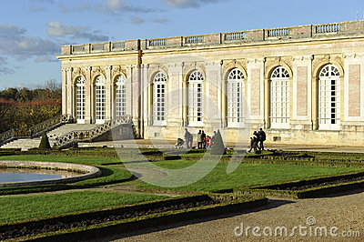 Versailles, Pleasure Palace Trianon Editorial Stock Photo