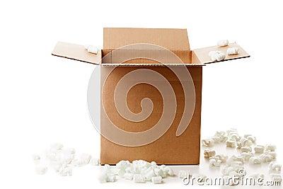 Verschepende doos
