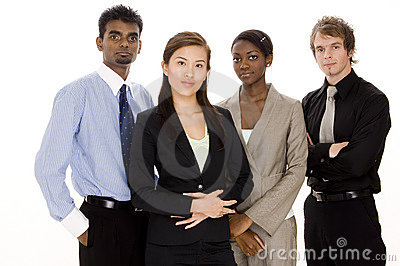 Verschiedenes Geschäfts-Team