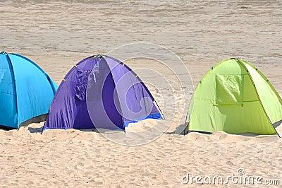 Verschillende tent