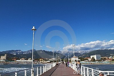 Versilia Editorial Stock Image