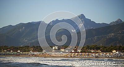 Versilia coast