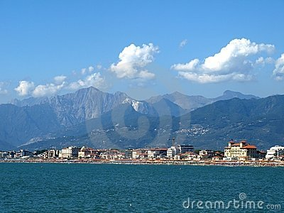 Versilia coasts