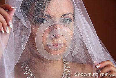 Versluierde bruid