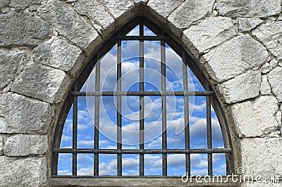 Versperd venster