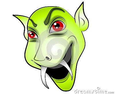 Les Vampires : une vérité scientifique Vert-de-visage-de-vampire-de-dessin-anim-eacute-thumb3068035