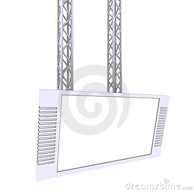 Free Vertical Billboard Royalty Free Stock Photography - 13093577