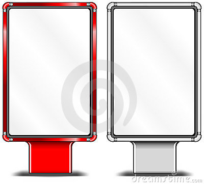 Vertical billboards