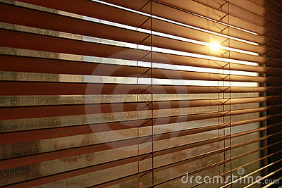 Vertical blinds background