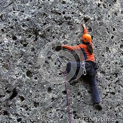 Free Vertical Climbing Stock Photos - 661323