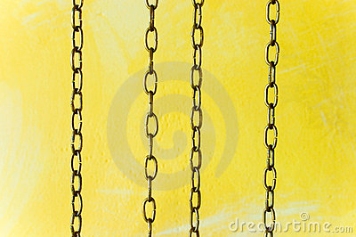 Vertical clock chains