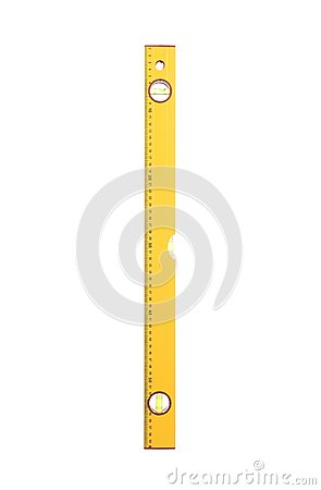 Free Vertical Closeup Of Yellow Building Level. Royalty Free Stock Images - 35483039