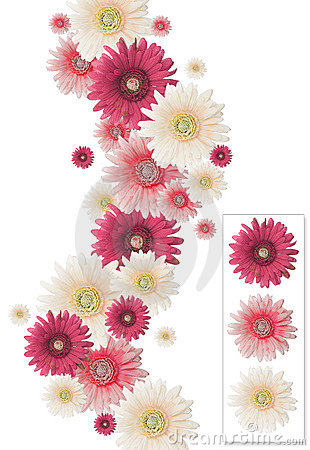 Vertical flower frame
