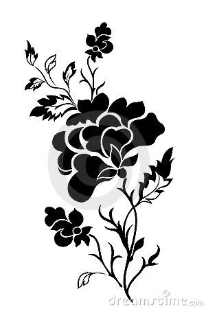 flower pattern tattoo. VERTICAL FLOWER PATTERN, ROSE,