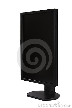 Vertical lcd monitor