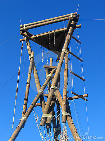 Vertical obstacle course