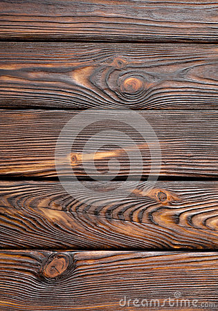 Vertical old wooden board