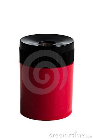Vertical Pencil Sharpener on a white background