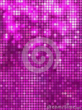 Vertical pink  mosaic
